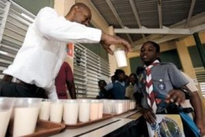 World Milk School Day 2015 - Barbados