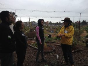 Field trip to the Gil Tract at the first People's Harvest Forum